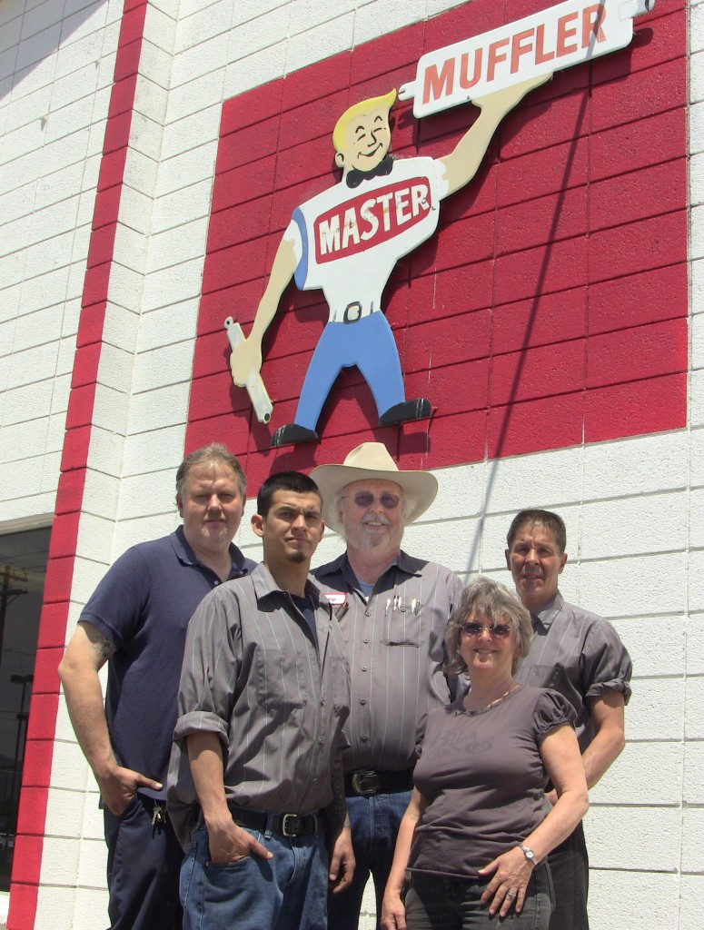 West Valley Master Muffler Team